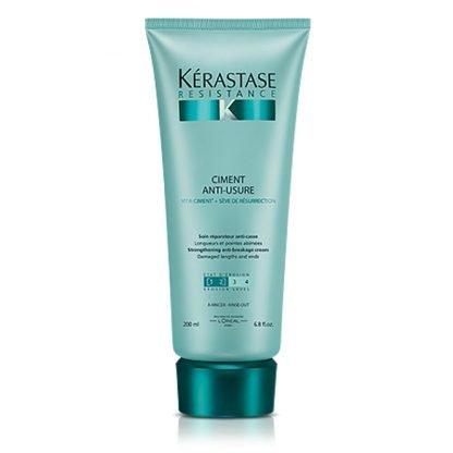 Njega za lomljivu i oštećenu kosu Resistance Ciment A Usure - 200 ml